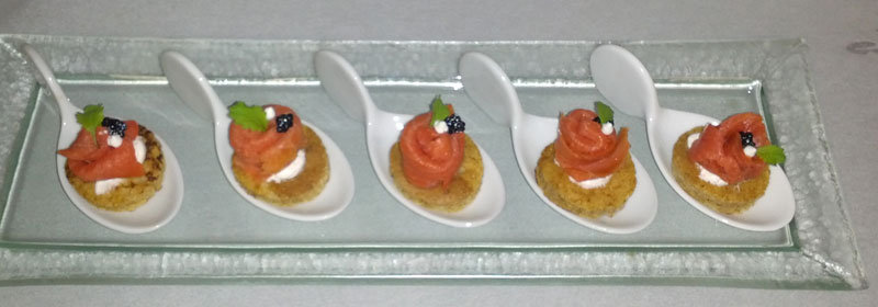 Shaike 39 s kosher catering cold canape for Cold canape menu
